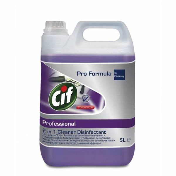 Cif Prof. 2in1 Cleaner Disinfectant 5 l