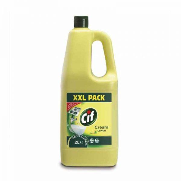 Cif Professional Cream lemon folyékony súroló 2 literes