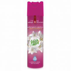 Fresh & More légfrissítő 300ml Smooth satin & moon lily