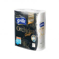 Grite Orchidea Gold 3 rétegű papírtörlő 2 tekercses