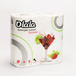 Olala Exclusive 3 rétegű kéztörlő 70 lap