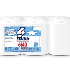 Papírtörölköző tekercses maxi 2 rétegű fehér Daily 6140
