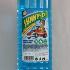 Nyári szélvédőmosó folyadék 2 literes