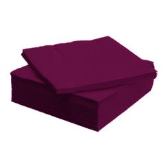 Tissue Exclusive 33x33 cm-es papírszalvéta 3 rétegű bordó