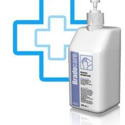 BradoCARE kézkrém pumpás 500 ml.