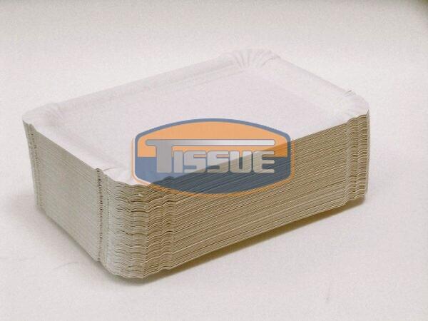 Papírtálca szögletes 105 x 170 mm