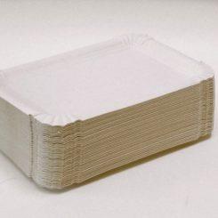 Papírtálca szögletes 140 x 200 mm