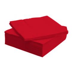 Tissue Exclusive 33x33 cm-es papírszalvéta 2 rétegű piros