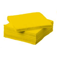 Tissue Exclusive 33x33 cm-es papírszalvéta 3 rétegű sárga