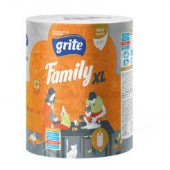 Grite Family XL 2 rét. papírtörlő 250 lapos