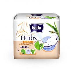 Bella Herbs egészségügyi betét 12db Lándzsás útifű