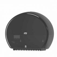 Tork Mini Jumbo toalettpapír-adagoló fekete 555008