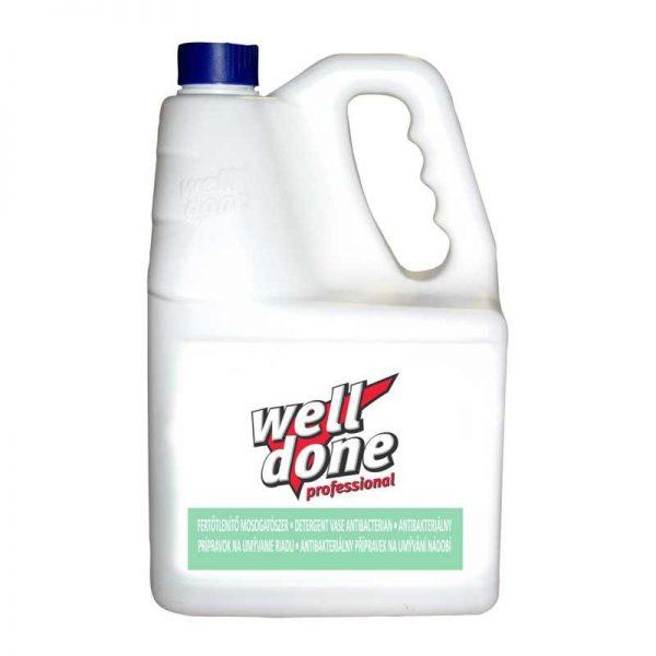 Well Done fertőtlenítő mosogatószer 5 literes